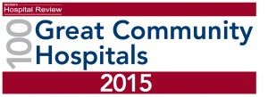 100 Great Community Hospitals 2015 Logo